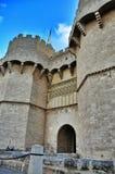 Serrano towers, Valencia old city, Spain Stock Image