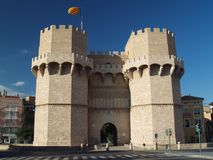 Serranos Towers Royalty Free Stock Image