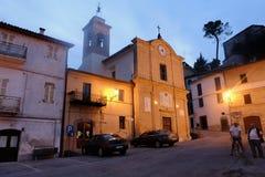 Serrapetrona in Italy Stock Images