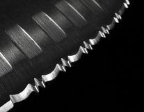 Serrated knife Royalty Free Stock Photography