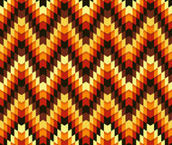 Serrated pattern. Beautiful trendy colorful seamless serrated pattern. Abstract geometric shapes. Abstract background. Fully editable vector mosaic background Royalty Free Stock Photos