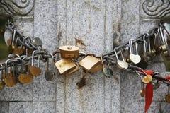 serratura Fotografia Stock