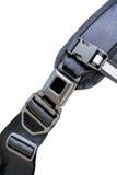 Serratura alta chiusa della clip del metallo con il supporto di nylon della spalla e della cinghia Immagini Stock Libere da Diritti