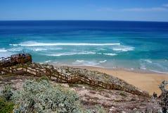Serratura bene, penisola di Eyre Fotografie Stock