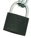 Serratura a chiave bloccata Immagini Stock