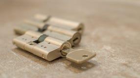 Serratura a cilindro immagini stock libere da diritti