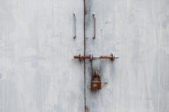 Serratura dei portoni e della porta Fotografia Stock