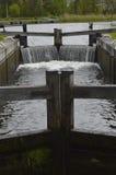 Serratura del canale Fotografia Stock