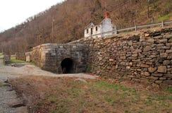 Serratura 33 del canale storico di C&O Fotografia Stock