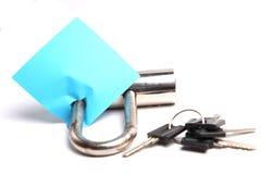 serratura del ferro Fotografia Stock Libera da Diritti