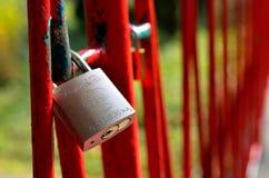 Serratura di amore Immagini Stock Libere da Diritti