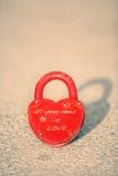 Serratura di amore Fotografia Stock