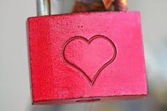 Serratura di amore Fotografie Stock Libere da Diritti
