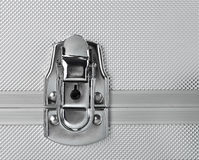 Serratura di concetto di sicurezza chiusa Fotografie Stock