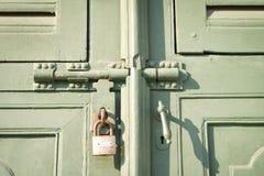 Serratura di porta Fotografie Stock