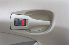 Serratura di porta dell'automobile Immagini Stock Libere da Diritti