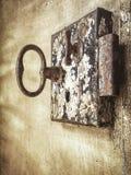 Serratura di portello antica Immagini Stock