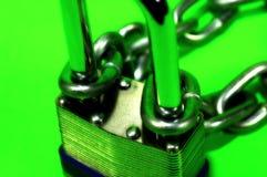 Serratura e catena immagine stock libera da diritti