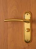 Serratura e maniglia di porta Immagine Stock