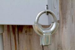 Serratura elettrica della scatola fotografia stock libera da diritti