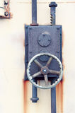 Serratura industriale arrugginita Fotografia Stock Libera da Diritti