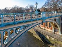 Serratura nella mattina di inverno, Londra di Richmond immagini stock libere da diritti