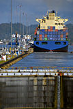 Serrature, canale di Panama Fotografia Stock Libera da Diritti