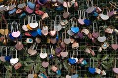 Serrature di amore Fotografie Stock Libere da Diritti