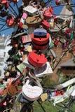 Serrature di cerimonia nuziale Fotografie Stock