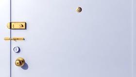Serrature di porta illustrazione vettoriale
