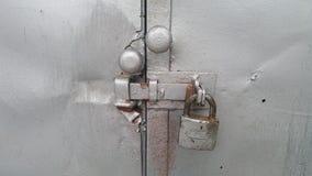 Serrature di porta del metallo Fotografie Stock Libere da Diritti