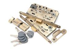 Serrature e chiavi Fotografie Stock Libere da Diritti