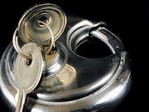 Serrature e chiavi di cuscinetto Fotografie Stock