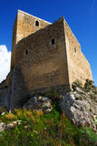 serravalle замока Стоковые Изображения RF
