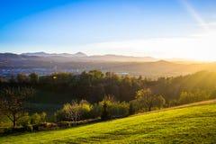 Serravalle Scrivia, Italien Stockbilder