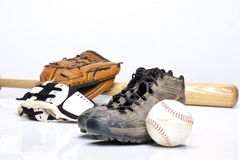 Serre-câbles de base-ball image stock