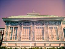 Serre chaude dans le style néoclassique dans le vintage photo libre de droits