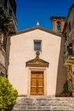 SERRE di RAPOLANO, TUSCANY, Italy - Church of the Company of San stock images