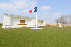 Serre-Hébuterne French Military Cemetery Royalty Free Stock Photo