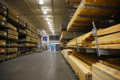 Serre madeira o armazém Fotos de Stock