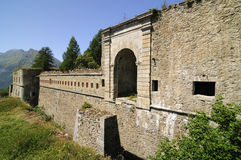 Serre Marie fort - Italy - 1892 Royalty Free Stock Images