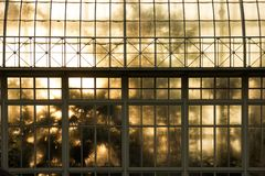 serre Nationale Botanische Tuinen dublin ierland stock foto