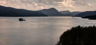 Serre-Poncon lake - Alpes - France Stock Images