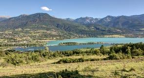 Serre-Poncon lake - Alpes - France Stock Photography