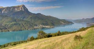 Serre-Poncon lake - Alpes - France Stock Image
