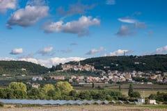 Serre of Rapolano, Siena - Tuscany Stock Images