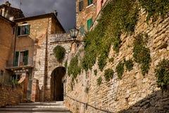 Serre van Rapolano, Siena - Toscanië Royalty-vrije Stock Foto