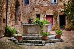 Serre van Rapolano, Siena - Toscanië Royalty-vrije Stock Afbeelding
