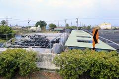 Serres chaudes végétales suburbaines de Kaohsiung Photo libre de droits