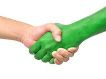 Serrez-vous la main Photo libre de droits